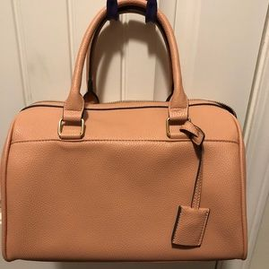 Unique peach JustFab handbag